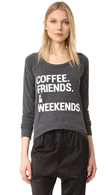 Chaser Weekend Coffee Tee