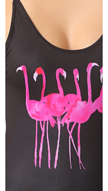 Chaser Friendly Flamingos One Piece