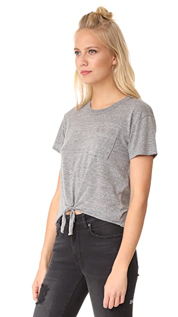 Chaser Tie Front Tee