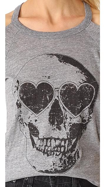 Chaser Heart Eyes Skull Tee