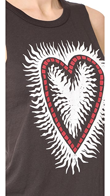 Chaser Painted Heart Tank
