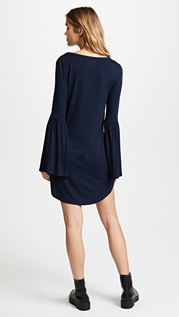 Chaser Flare Sleeve Scoop Dress