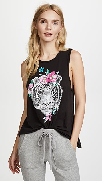 Chaser Garden Tiger Tank - True Black