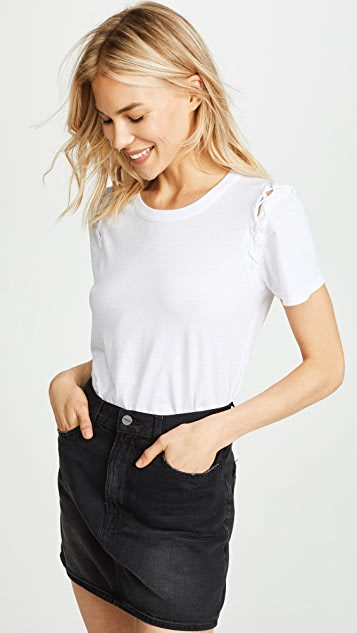 Chaser Lace-Up Sleeve Tee