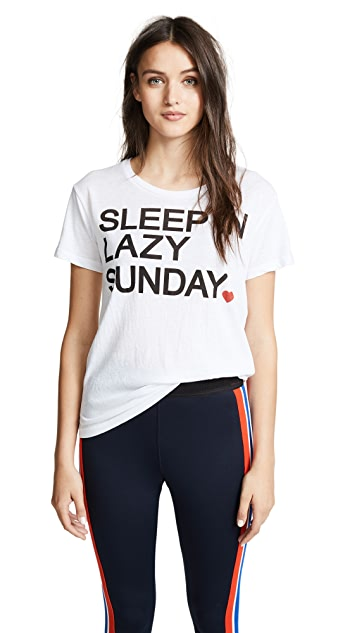 Chaser Sleep In Sunday Tee