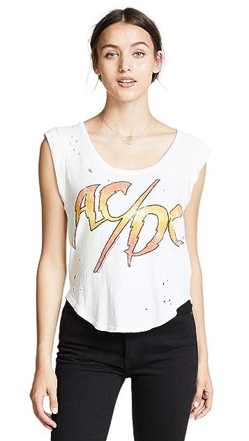 Chaser AC/DC Flamingo Logo Tee