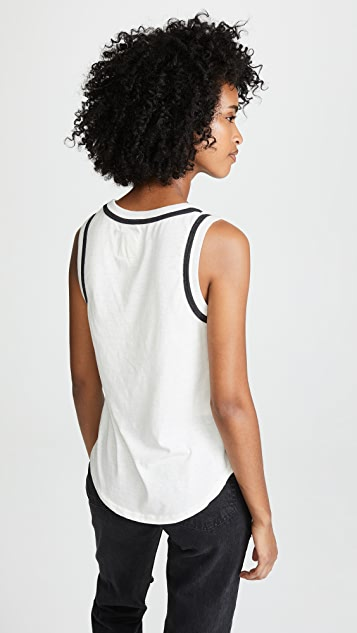Chaser Shirttail Muscle Tank Top
