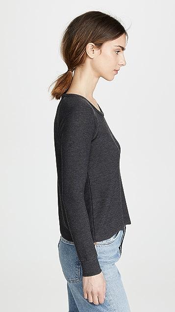 Chaser 舒适针织连肩套头衫