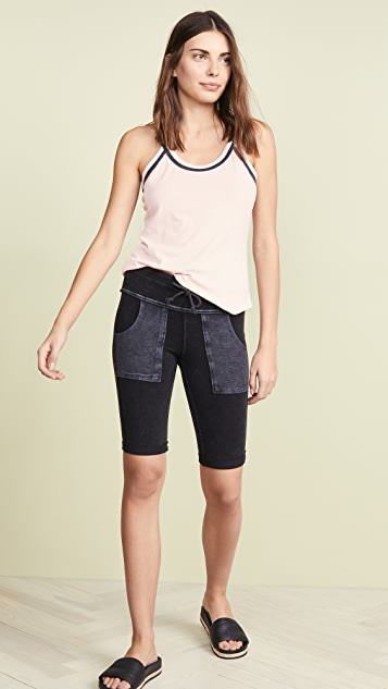 Chaser Blocked Jersey Tank