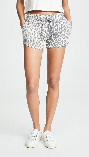 Chaser Cozy Knit Drawstring Shorts