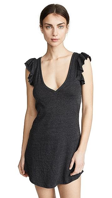 Chaser Flutter Sleeve Dress