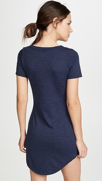Chaser Shirttail T Shirt Dress