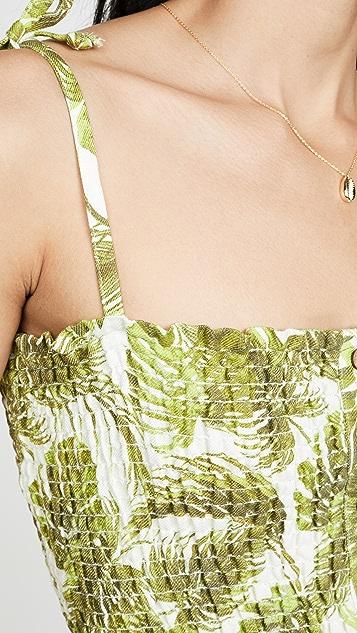 Chaser 海滩风格腰褶吊带