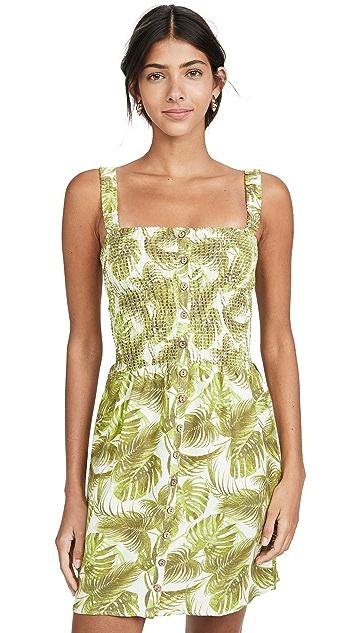 Chaser Пляжное мини-платье со сборками
