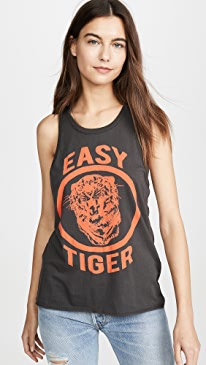 Womens Cotton Jersey Crew Neck Tank