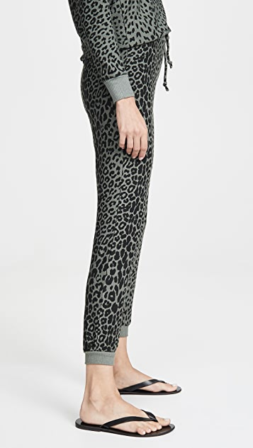 Chaser Уютные трикотажные брюки для бега на завязках