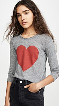 Triblend Long Sleeve Shirttail Tee