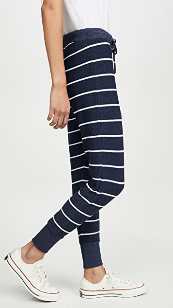 Chaser Cozy Knit Drawstring Cuffed Joggers