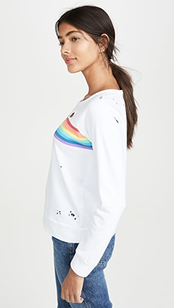 Chaser Rainbow Stripe Long Sleeve
