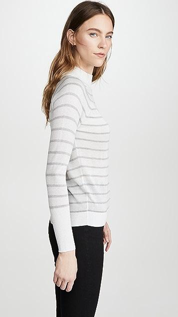 Chaser 金属色条纹毛衣
