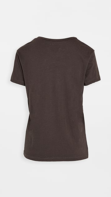 Chaser 再生复古平纹针织面料 T 恤