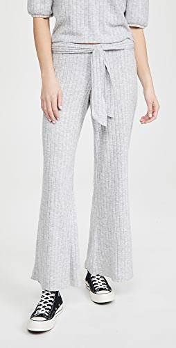 Chaser - Pull On Belted Rib Pants