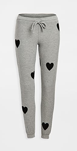 Chaser - Cozy Knit Cuffed Drawstring Joggers