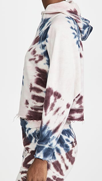 Chaser Linen Batwing Hoodie
