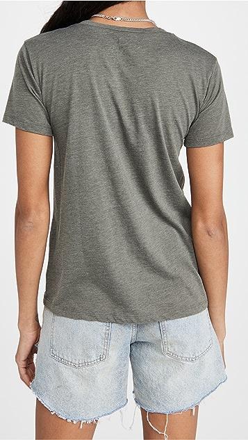 Chaser 复古圆领日常 T 恤