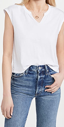 Chaser - Vintage Split Neck Boxy Muscle Tee