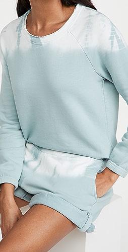 Chaser - Slub French Terry Blouson Sleeve Raglan Pullover