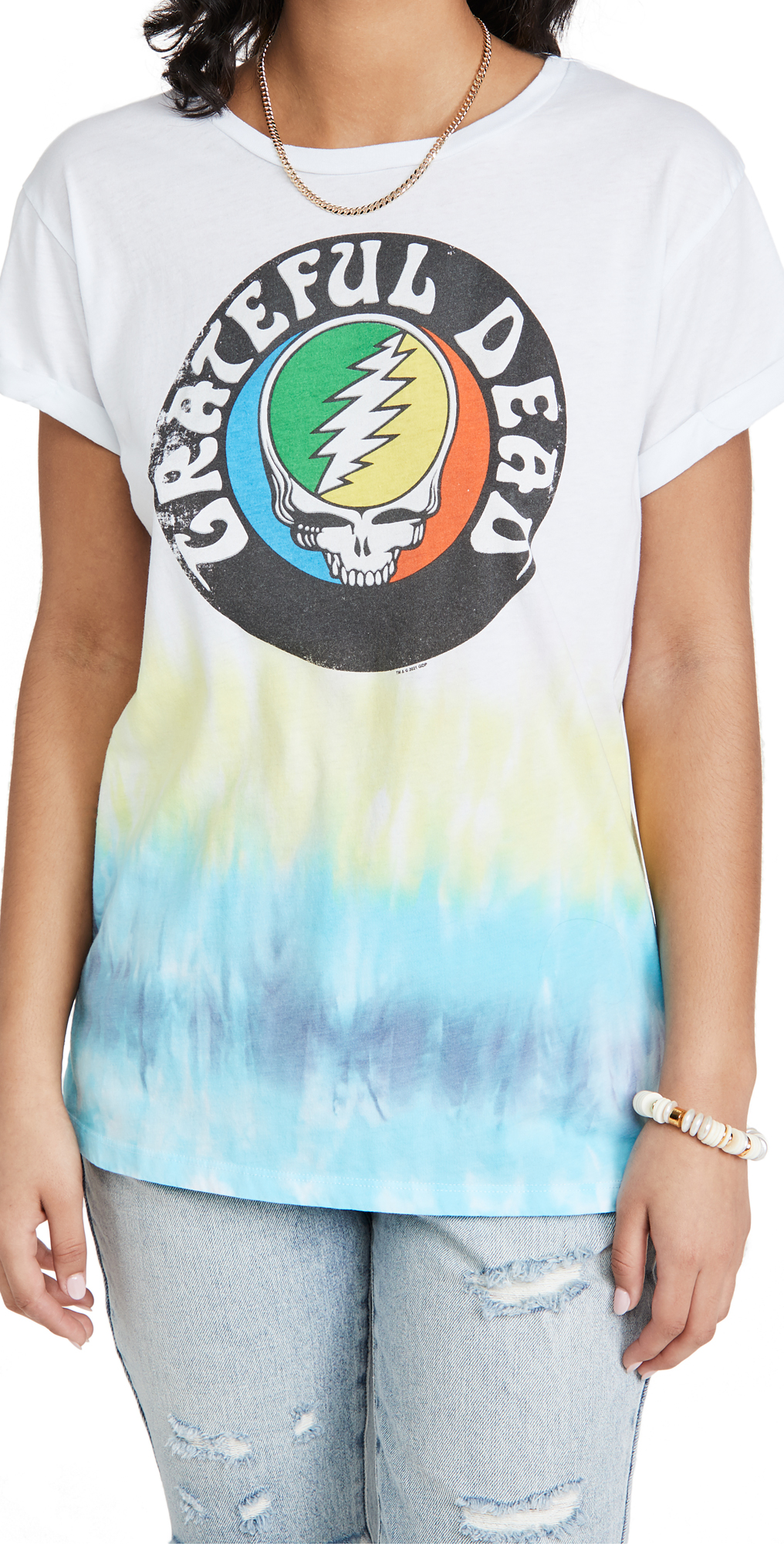 Chaser Recycled Steal Your Face Tie Dye Tee