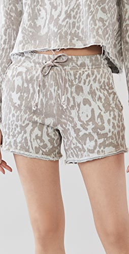 Chaser - Linen French Terry Easy Shorts