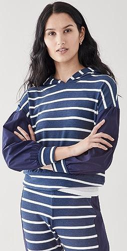 Chaser - Blouson Stripe Pullover