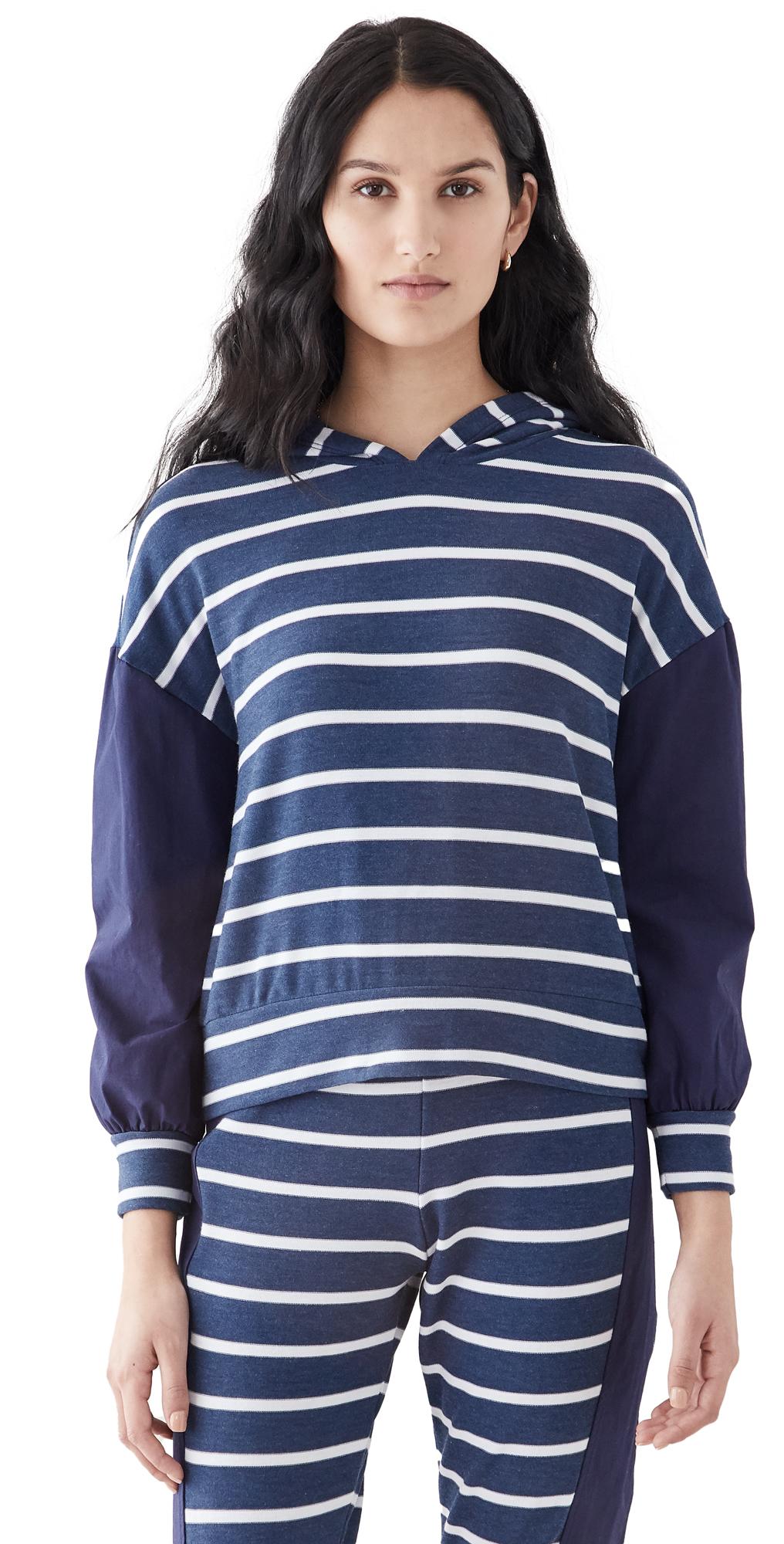 Chaser Blouson Stripe Pullover