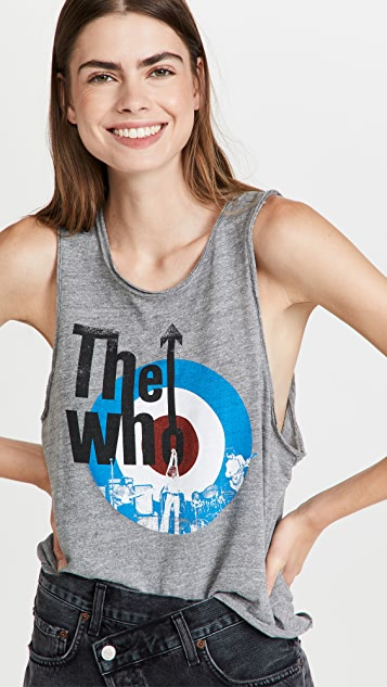 Chaser The Who Target Logo Tank