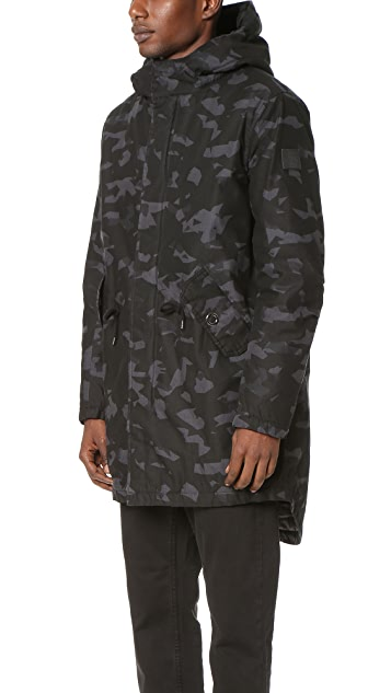 Cheap Monday Cage Print Parka