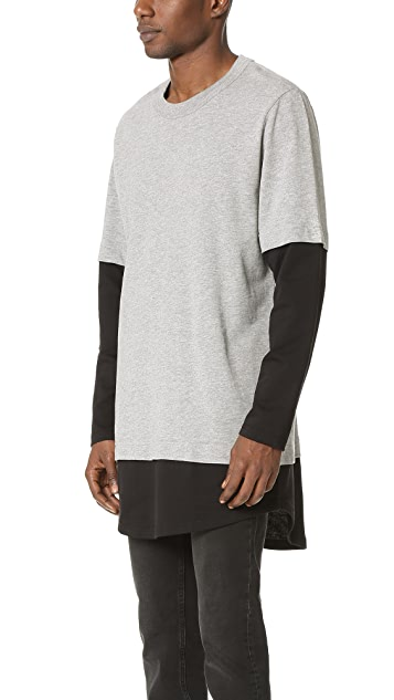 Cheap Monday Fake Long Sleeve Tee