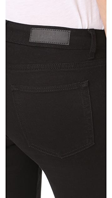 Cheap Monday Mid Snap Black Coal Jeans