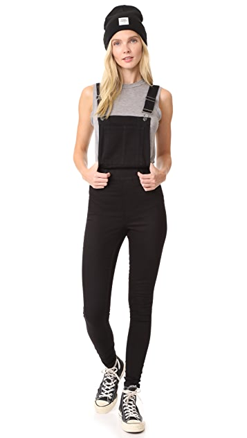 Cheap Monday Dungaree Spray Overalls