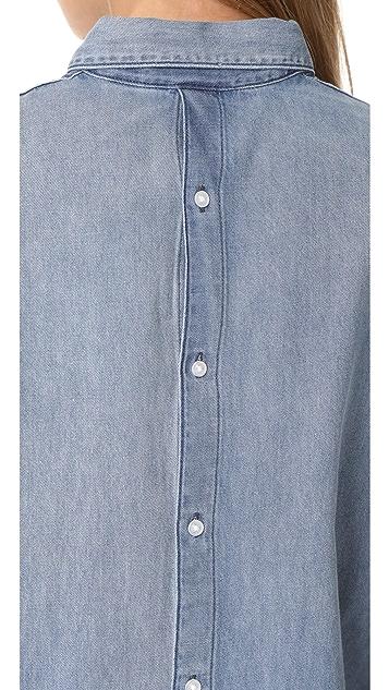 Cheap Monday Behave Denim Shirt