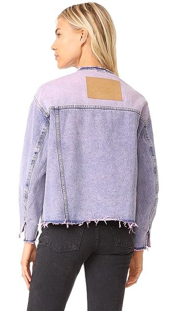 Cheap Monday Tromber Bankrupt Pink Jacket