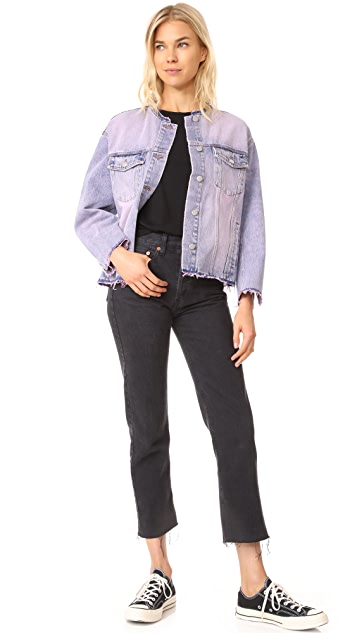 Cheap Monday Tromber Bankrupt Pink Jacket