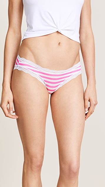 Cheek Frills Stripes 4 Pack Panties
