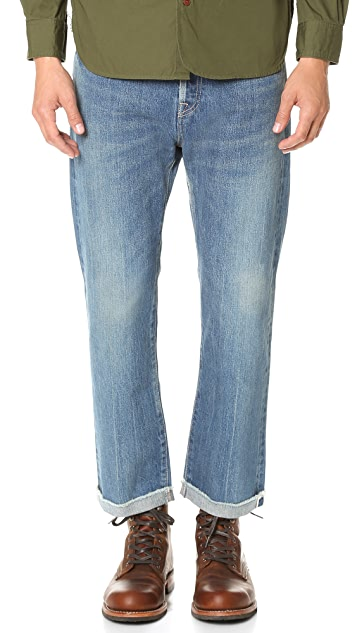 Chimala Selvedge Denim Used Ankle Cut Jeans