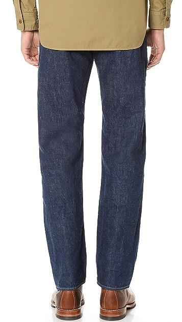 Chimala Selvedge Denim Vintage Deep Rise Fit Jeans