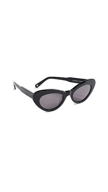 Chimi Sundae School Round Sunglasses