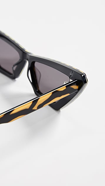 Chimi Квадратные солнцезащитные очки x Sundae School