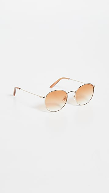 Chimi Round Metal Sunglasses