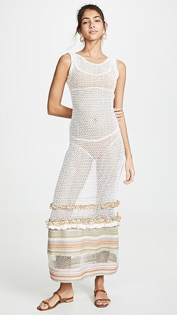 CHIO Связанное крючком платье